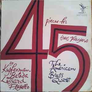 Kupferman / Balada / Lessard / Flagello - The American Brass Quintet - 4 Pieces For 5 Brass Players download free